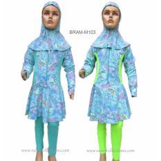 Jual Baju Renang Anak Muslim Bram M103Sd Rainy Collections Grosir