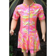 Jual Baju Renang Anak Perempuan Brdr M014Sd Satu Set