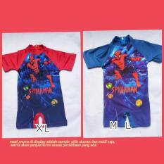 Baju renang diving anak batita cowok laki- laki karakter