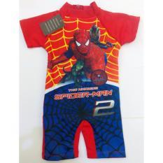 Baju Renang Diving Anak-Boy-Spiderman