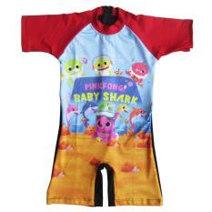 Harga Baju Renang Diving Anak Karakter Usia 6 11 Tahun Satu Set
