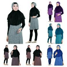 baju renang muslim dewasa aghnisan s m l xl/ terlaris best seller