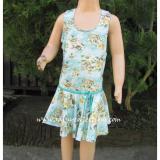 Harga Baju Renang Rok Anak Motif Brs M036Sd Termurah