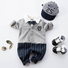 baju romper cardigan formal pesta anak bayi cowo laki dasi kupu topi