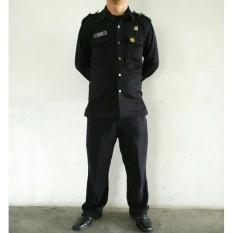 Baju Security / Baju Setelan / Pakaian Safari / Baju Supir - 3Ijve6
