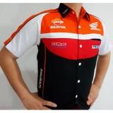 Harga Baju Seragam Otomotif Honda Baju Komunitas Moto Gp Kemeja Bordir F1 Star Brand Asli