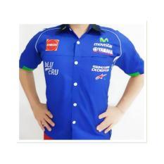 Baju Seragam Otomotif Yamaha, Baju Komunitas Moto GP, Kemeja Bordir F1
