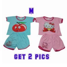 Baju setelan anak perempuan vivin inayah fashion (random) usia 1-2 tahun