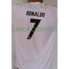 baju setelan bola anak anak real madrid ukuran 10,12,14