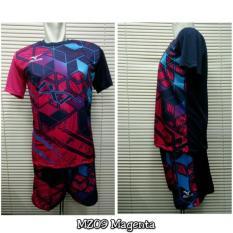 Setelan Voli Volly Volley Mizuno MZ09 (Baju Kaos Jersey CelanaIDR152000. Rp 157.400