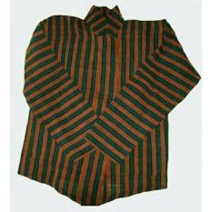 Baju Surjan Dewasa Gratis Blangkon / Lurik / Batik Adat Jawa