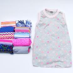 CherryAndMe- Baju Tidur Anak Bayi Daster - Mix 4 Pcs - Baby Shop - Baju Santai Bayi Perempuan dan Anak Cewek
