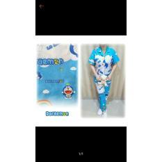 Baju Tidur Doraemon Wanita Dewasa Piyama Cewek Women Fashion - Ickzgp