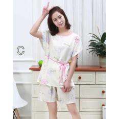 Baju Tidur Murah Sleepwear Set 521 Piyama Wanita Katun Dewasa Nikah - 7Ec593