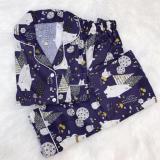 Jual Baju Tidur Navy Teddy Bear Lengkap