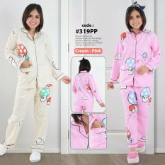 Penawaran Istimewa Baju Tidur Piyama 319 Pp Cream Terbaru