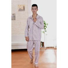 Baju Tidur Pria Dewasa Corak Corak Kotak Fer/ Piyama Cowok