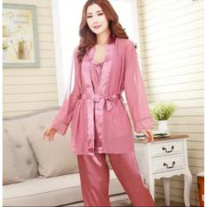 Baju Tidur Wanita  Baju tidur set  Baju Tidur Cewe  Baju Kimono Tidur Set Seserahan Cewek Lengan Celana Panjang Murah (SILAKAN CANTUMKAN WARNA PADA PENGISIAN DATA DIRI PEMBELI SETELAH NAMA PEMESAN)
