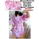 Spesifikasi Baju Tidur Wanita Fashionable Baju Santai Wanita Kimono Blossom Lengkap Dengan Harga