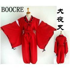 Baju Tradisional Kostum Costume Hakama Yukata Inuyasha Jepang Anime - 55B93C