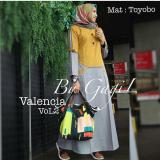 Baju Valencia Dress Baloteli Maxi Modern Cewek Gamis Panjang Hijab Casual Pakaian Wanita Murah Diskon Akhir Tahun