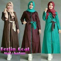 Baju Wanita / Baju Murah / Baju Muslim / Baju Terbaru / FERLIN COAT