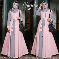 Baju Wanita Baju Muslimah Baju Hijab Nagita Dress Baloteli