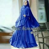 Review Tentang Baju Wanita Muslim Murah Dress Gaun Gamis Syari Ceruty Polos Busui Size Xl Gracella Biru Elektrik By Nurul Collection
