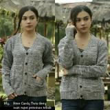 Jual Cepat Baju Wanita Sweater Wanita Kaos Wanita Rajut Tebal Model Rere Twist Cardy
