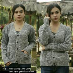 Model Baju Wanita Sweater Wanita Kaos Wanita Rajut Tebal Model Rere Twist Cardy Terbaru