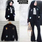 Harga Baju Wanita Sweater Jaket Joyagh Bomber Casual Atasan Blouse Termurah New