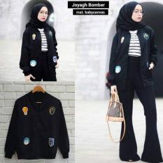 Beli Baju Wanita Sweater Jaket Joyagh Bomber Casual Atasan Blouse Termurah Seken