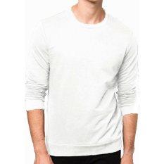 Review Toko Bajukitaindonesia Jacket Basic Sweater Putih