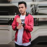 Jual Bajukitaindonesia Jaket Bomber Lotto Polos Maroon M Xl Original