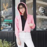 Tips Beli Bajukitaindonesia Jaket Hoodie Crop Polos Pink S M