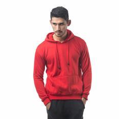 Toko Bajukitaindonesia Jaket Hoodie Jumper Polos Merahterang M Xl Termurah Di Dki Jakarta