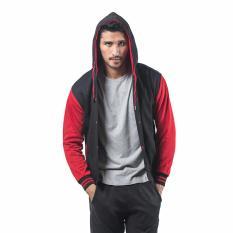 Berapa Harga Bajukitaindonesia Jaket Hoodie Varsity Polos Hitam Merah M Xl Bajukitaindonesia Jacket Di Dki Jakarta