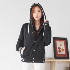 Spesifikasi Bajukitaindonesia Jaket Hoodie Varsity Polos Hitamhitam Pria Dan Wanita Merk Bajukitaindonesia Jacket