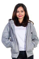 Ulasan Tentang Bajukitaindonesia Jaket Hoodie Zipper Polos Abu Muda Pria Dan Wanita