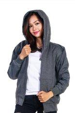 Harga Bajukitaindonesia Jaket Hoodie Zipper Polos Abu Tua Pria Dan Wanita Bajukitaindonesia Jacket Terbaik