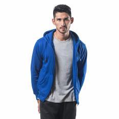 Beli Bajukitaindonesia Jaket Hoodie Zipper Polos Birubenhur M Xl Bajukitaindonesia Jacket Dengan Harga Terjangkau