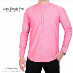 Promo Bajuku Murah 5719 Long Simple Pink Murah