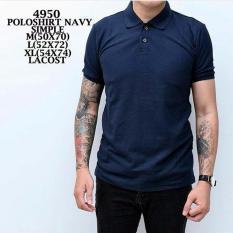 Jual Bajuku Murah Polo Shirt Navy Simple Original
