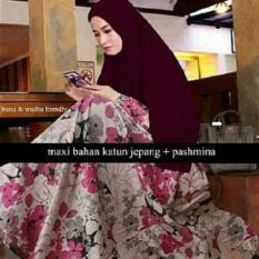 bajuready-1016-baju-muslim-dress-katun-jepang-pakaian-wanita-cewek-kekinian-gamis-pesta-busui-jaman-now-motif-bunga-8904-57188007-cb428b2acfbdf132521db7bb20afa356-catalog_233 Inilah Harga Dress Pesta Muslim Jumbo Termurah saat ini