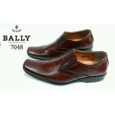BALLY Switzerland Sepatu Formal Pria KULIT ASLI 7048