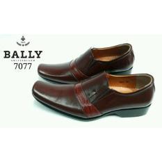 BALLY Switzerland Sepatu Formal Pria KULIT ASLI 7077