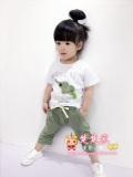 Jual Bambu Katun Anak Perempuan Lengan Pendek Celana Pendek Bayi Laki Laki Jas Md Lengan Pendek Gajah Jas Hijau