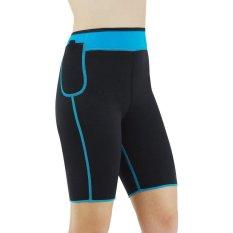 Promo Toko Bang Slimming Neoprene Shorts Hot Keringat Pembentuk Tubuh Womens Weightloss