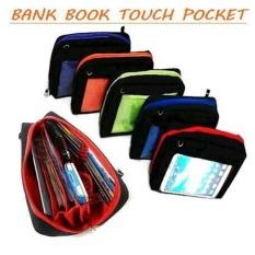 Bank Book Touch Pocket ( Dompet Hanphone Organizer - Pouch Pocket )