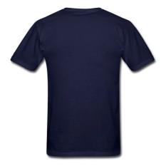 Banshan Kustom Modis Kaus Butik Pria Kaus dengan Dungeon Masterman Lengan Pendek Kaus Jual Panas Biru-Internasional